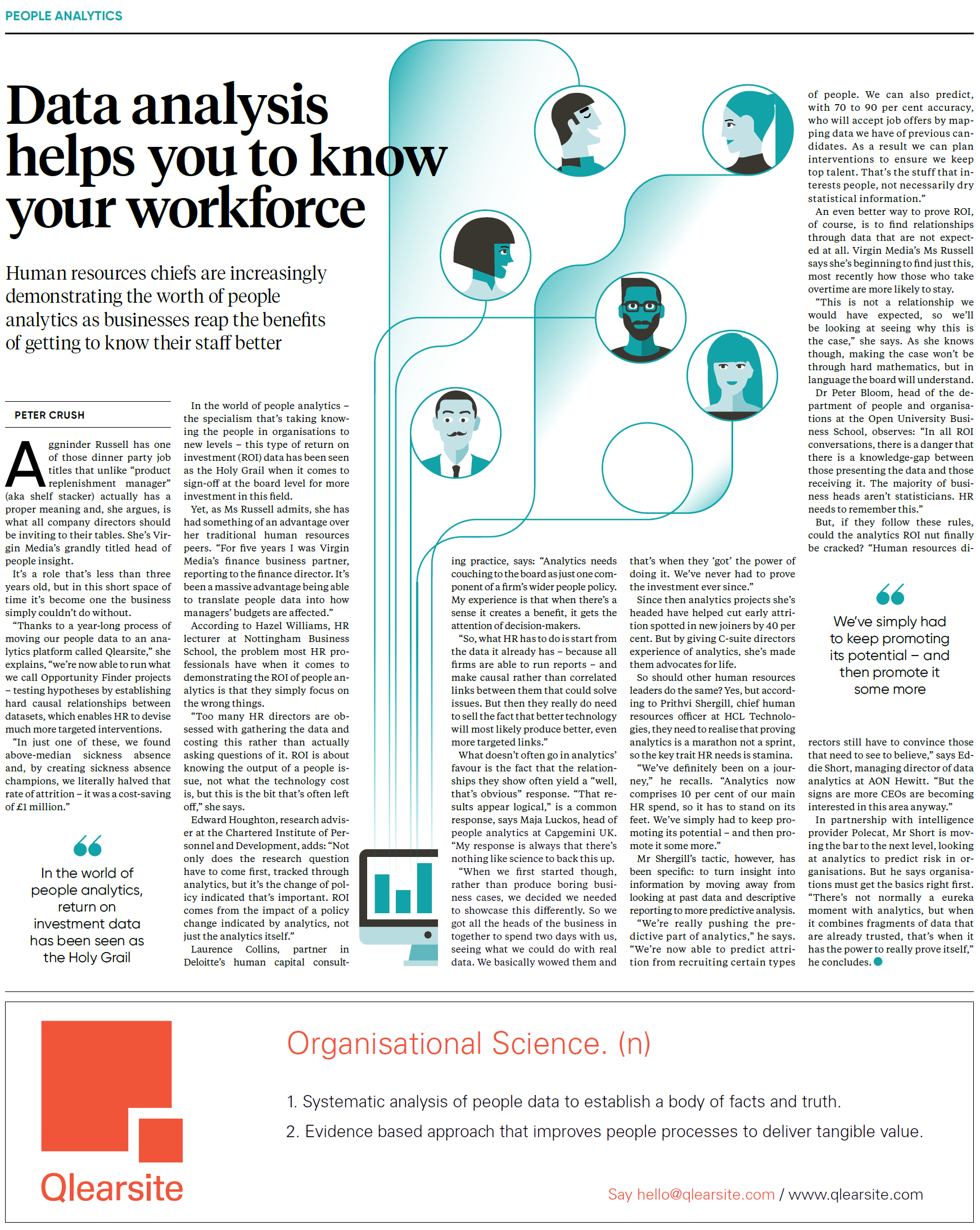 The Times: Data analysis helps you to know your workforce